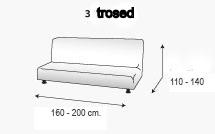 dimenzije elastične prevleke za trosed