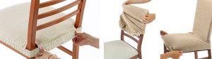 elastične prevleke za kuhinjske stole