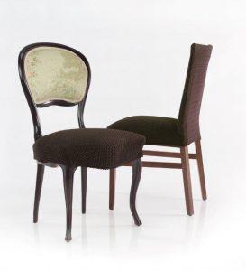 bitex elasticna prevleka za stol rjave barve