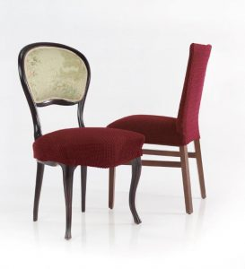 bitex elasticna prevleka za stol rdeče barve